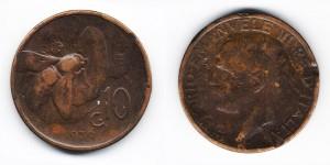 10 чентезимо 1930 года