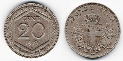 20 centesimi 1919