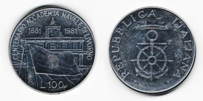 100 lire 1981