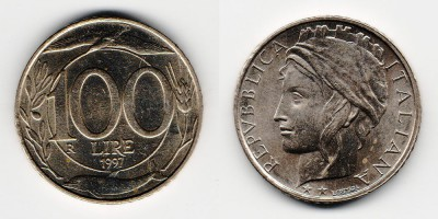 100 lire 1997