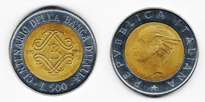 500 lire 1993