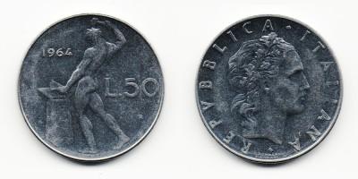 50 lire 1964