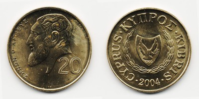 20 cents 2004