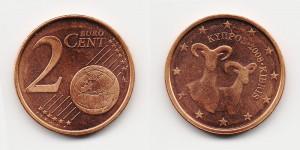 2 евроцента 2008 года