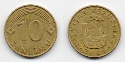 10 Centimes 2008