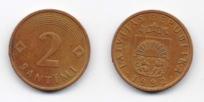2 Centimes 1992