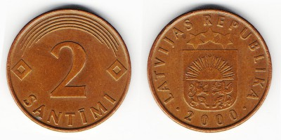 2 santimi 2000