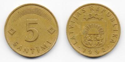 5 Centimes 1992