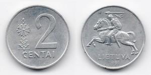 2 цента 1991 года