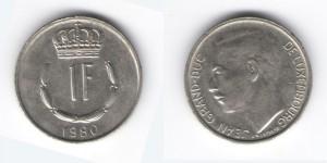 1 франк 1980 год