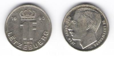 1 franc 1990