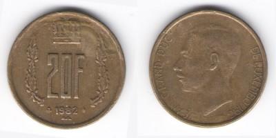 20 francs 1982
