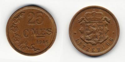 25 centimes 1946