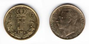 5 франков 1987 года