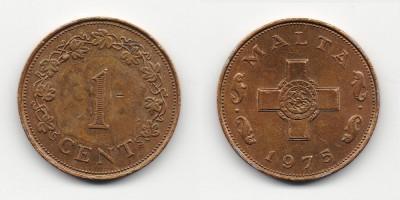 1 цент 1975 года