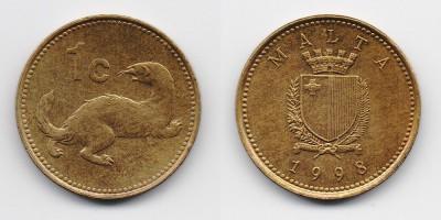 1 cent 1998