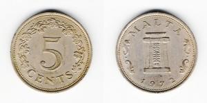5 центов 1972 года