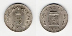 5 центов 1976 года