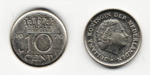10 центов 1979 года