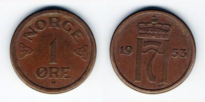 1 öre 1953
