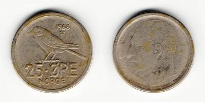 25 öre 1968
