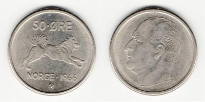 50 öre 1966