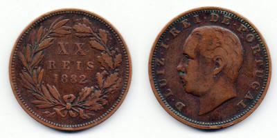 20 reis 1882