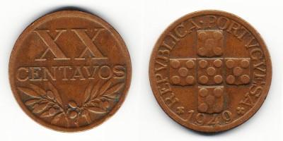 20 centavos 1949