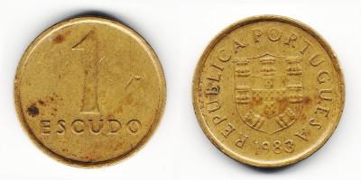 1 escudo 1983