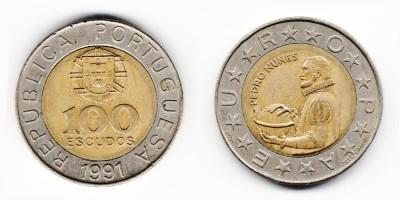 100 escudos 1991