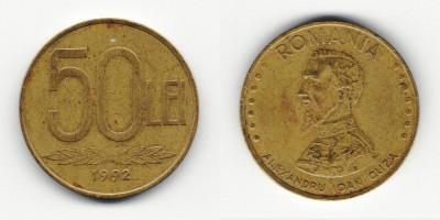50 lei 1992
