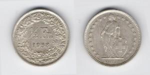 1/2 франка 1958 года