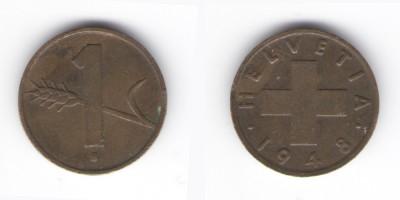 1 rappen 1948