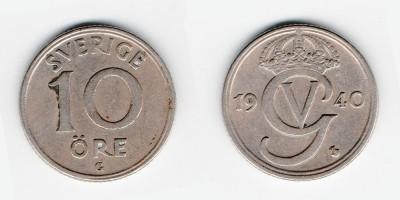 10 öre 1940