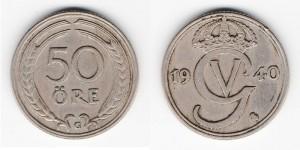 50 эре 1940 года