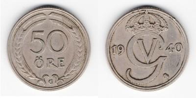 50 öre 1940