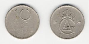 10 эре 1972 года