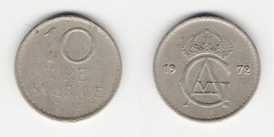 10 öre 1972