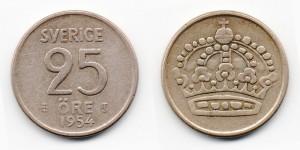 25 эре 1954 года