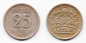 25 эре 1958 года