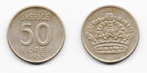 50 эре 1953 года