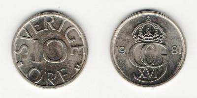 10 öre 1981
