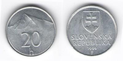 20 halierov 1994