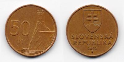 50 halierov 2002