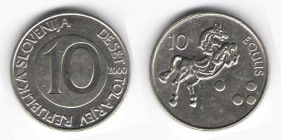 10 толаров 2001 года