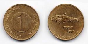 1 толар 1992 года