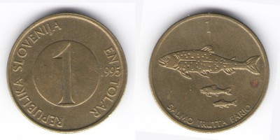 1 толар  1995 год
