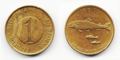 1 толар 1998 года
