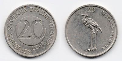 20 толаров 2003 года