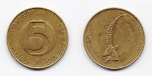 5 толаров 1994 года